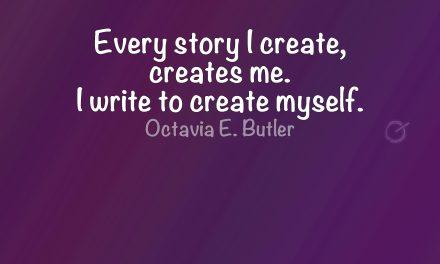 Every story I create,