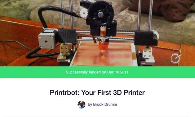 Printrbot, Kickstarter