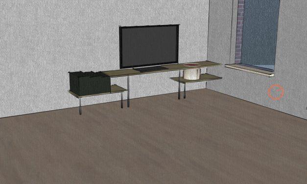 Meubel-ontwerp (TV-meubel)