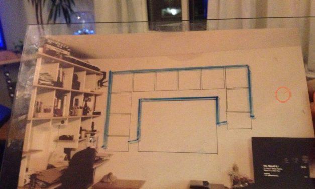 Wand Decoratie Ontwerp (Bulletin & White)