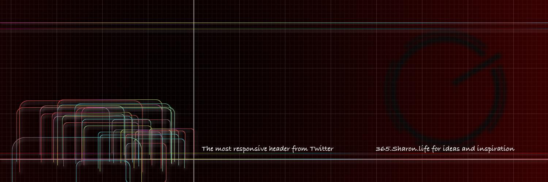 Responsive Twitter Header