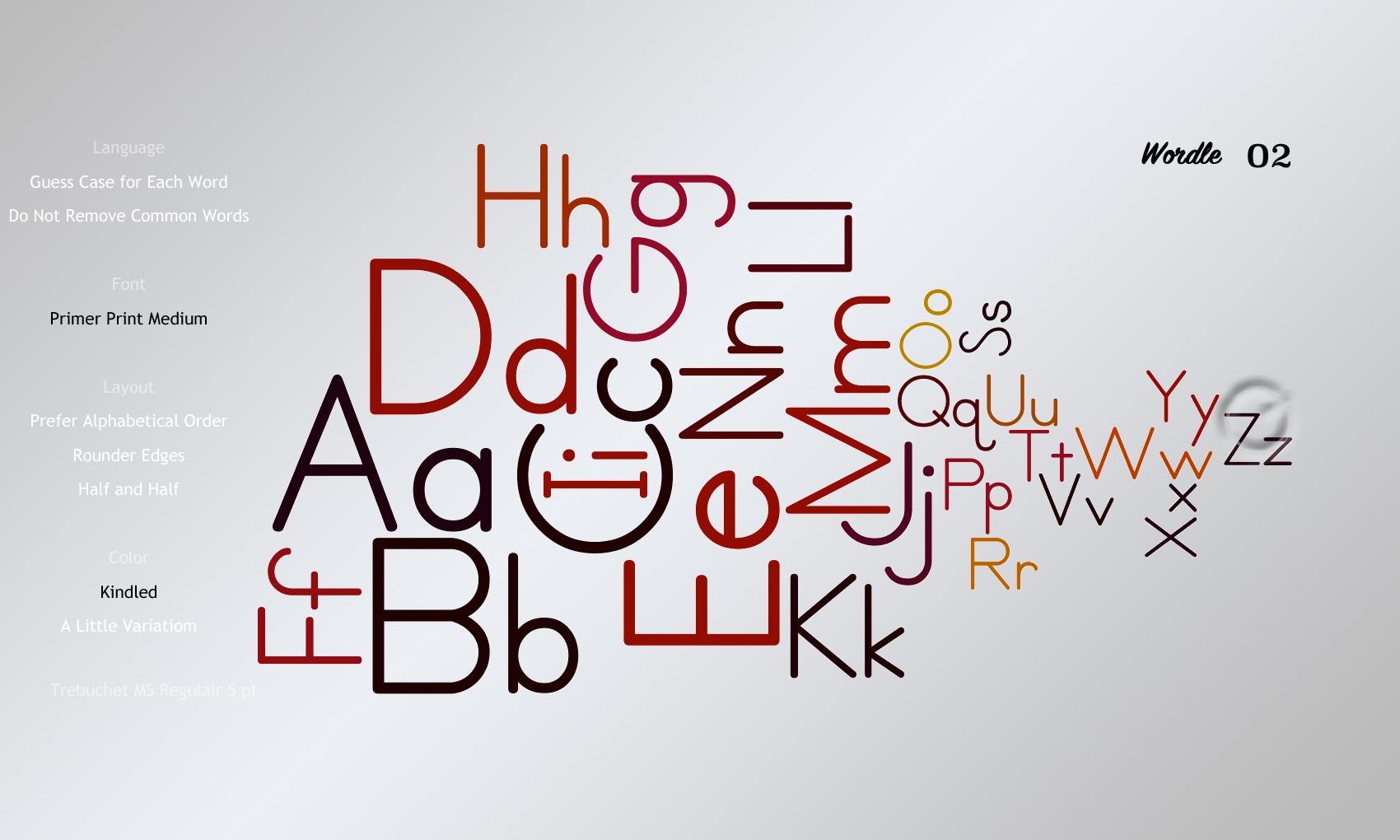 Wordle02 Primer Print Medium