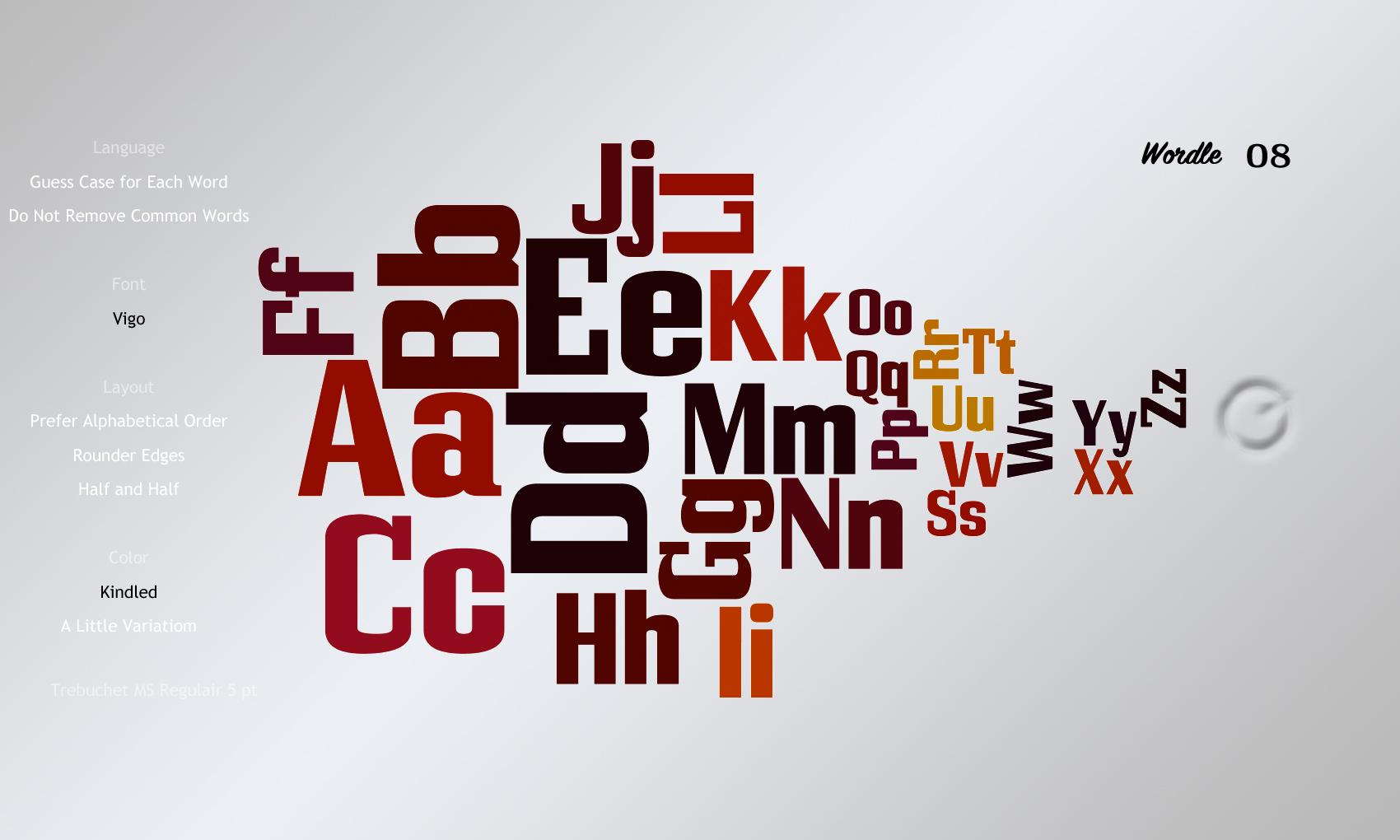 Wordle08 Vigo